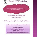 REIKI 2 LIGHTWORKER WORKSHOP